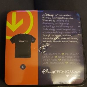 Disney Tech large tshirt